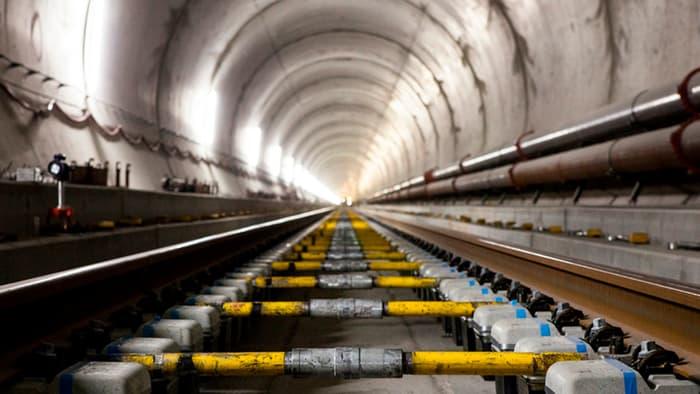 Gotthard base tunnel 1 1