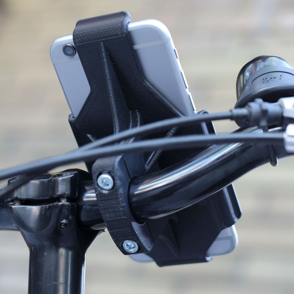 iphone 6 handlebar mount iphone 6 handlebar mount 3dthursday 3dprinting 5377