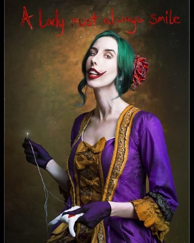 lady joker cosplay