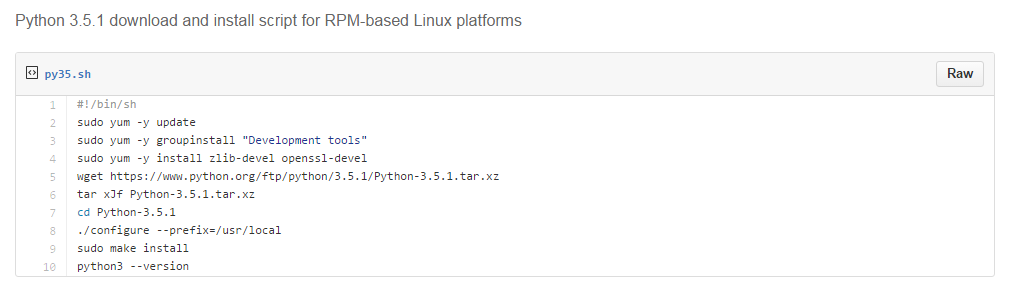 Readymade Script for Installing Python 3 5 on #Linux Distros