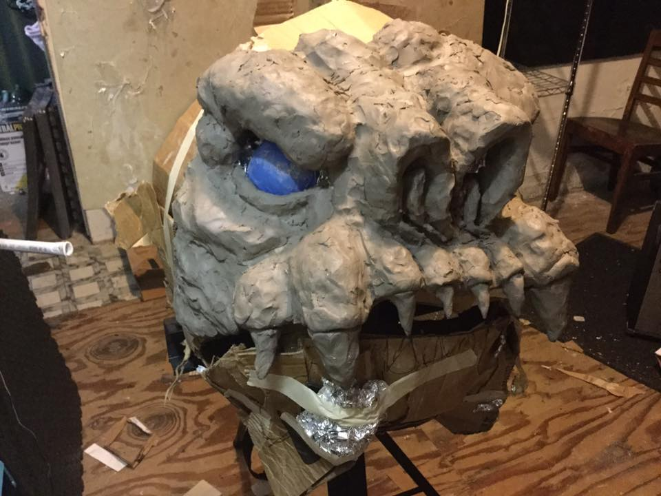 rancor costume 3
