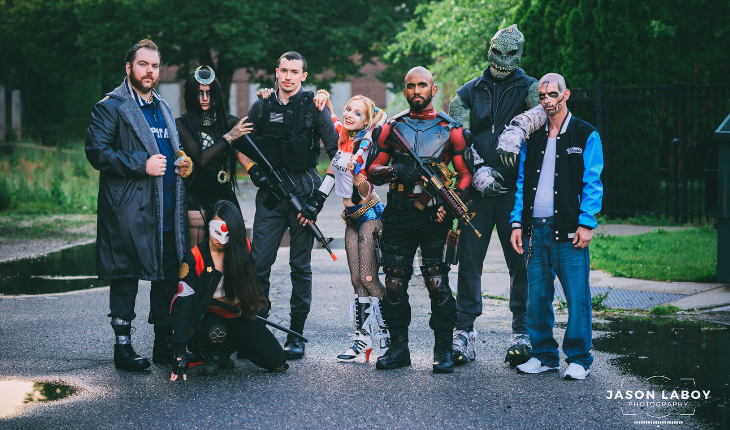 Meet The Suicide Squad Cosplay Squad 171 Adafruit Industries