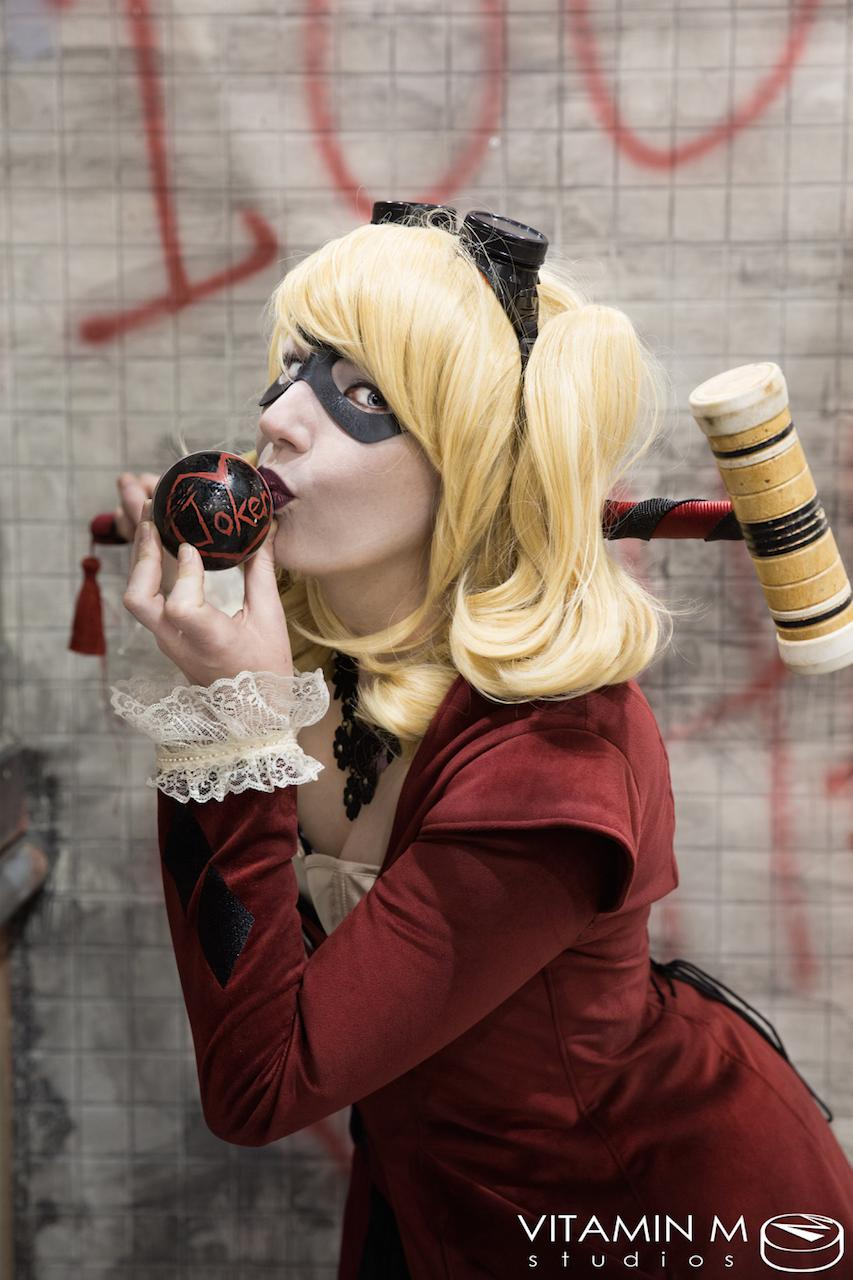 victorian harley quinn cosplay 2