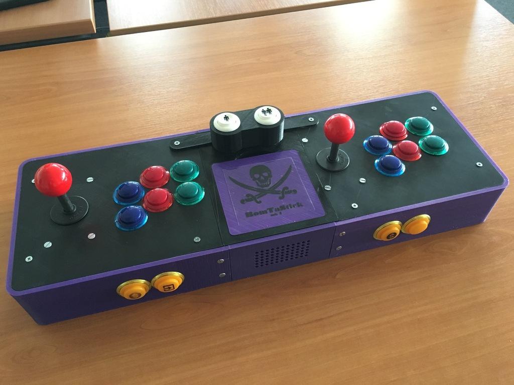 2-Player Arcade Joystick Controller #3DThursday ...