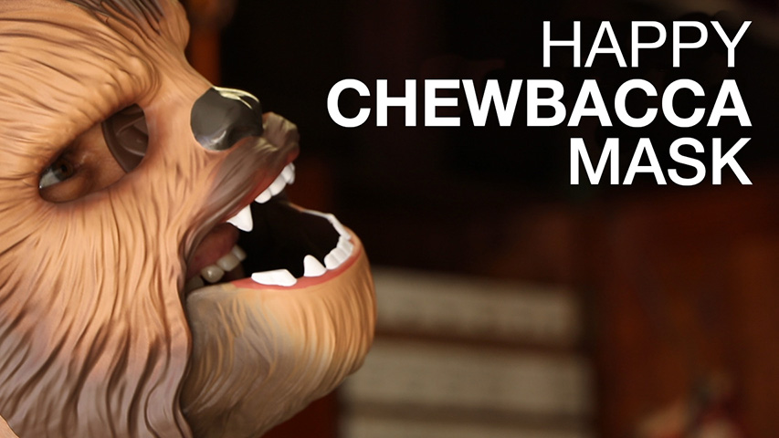 HappyChewbaccaMask
