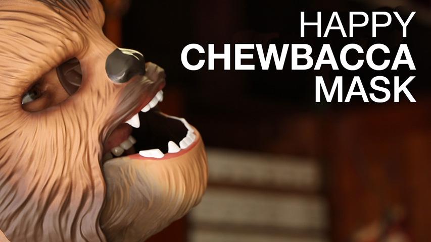 HappyChewbaccaMask