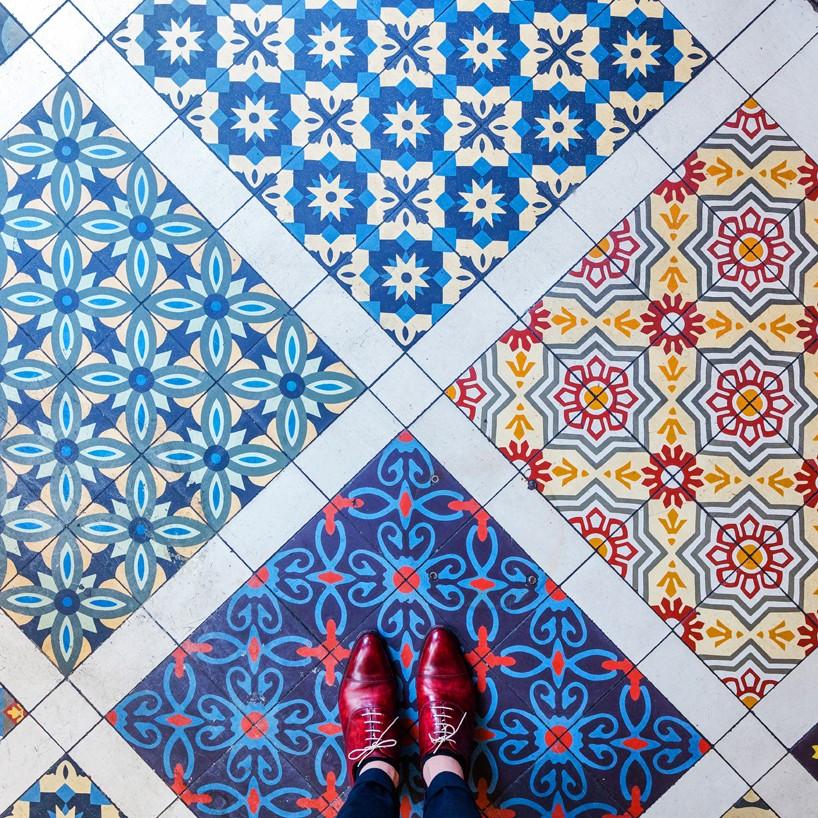 Bar Pepito pixartprinting sebastian erras london floors designboom 818x818