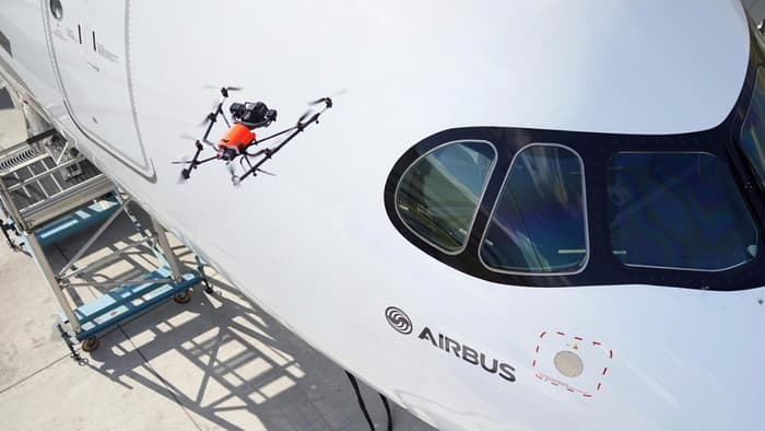 Airbus drone aircraft quality inspection 1