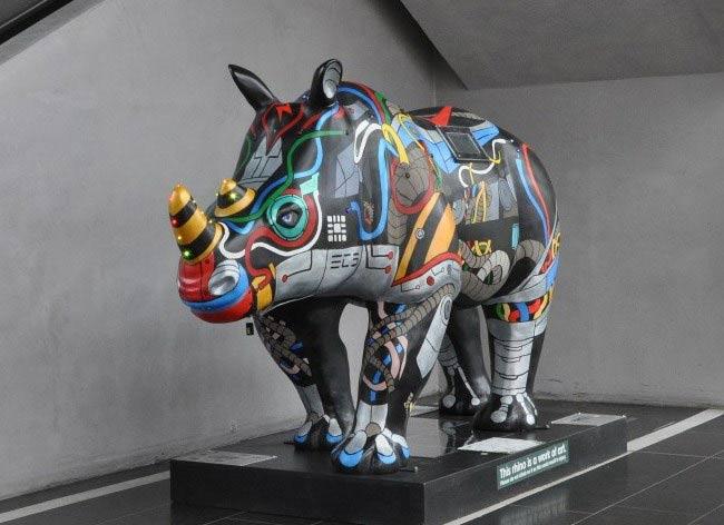 Raspberry pi powered rhino