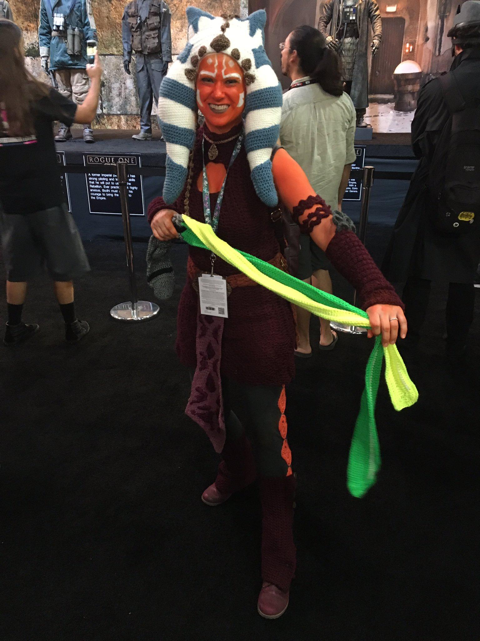 Yarn ahsoka cosplay 1
