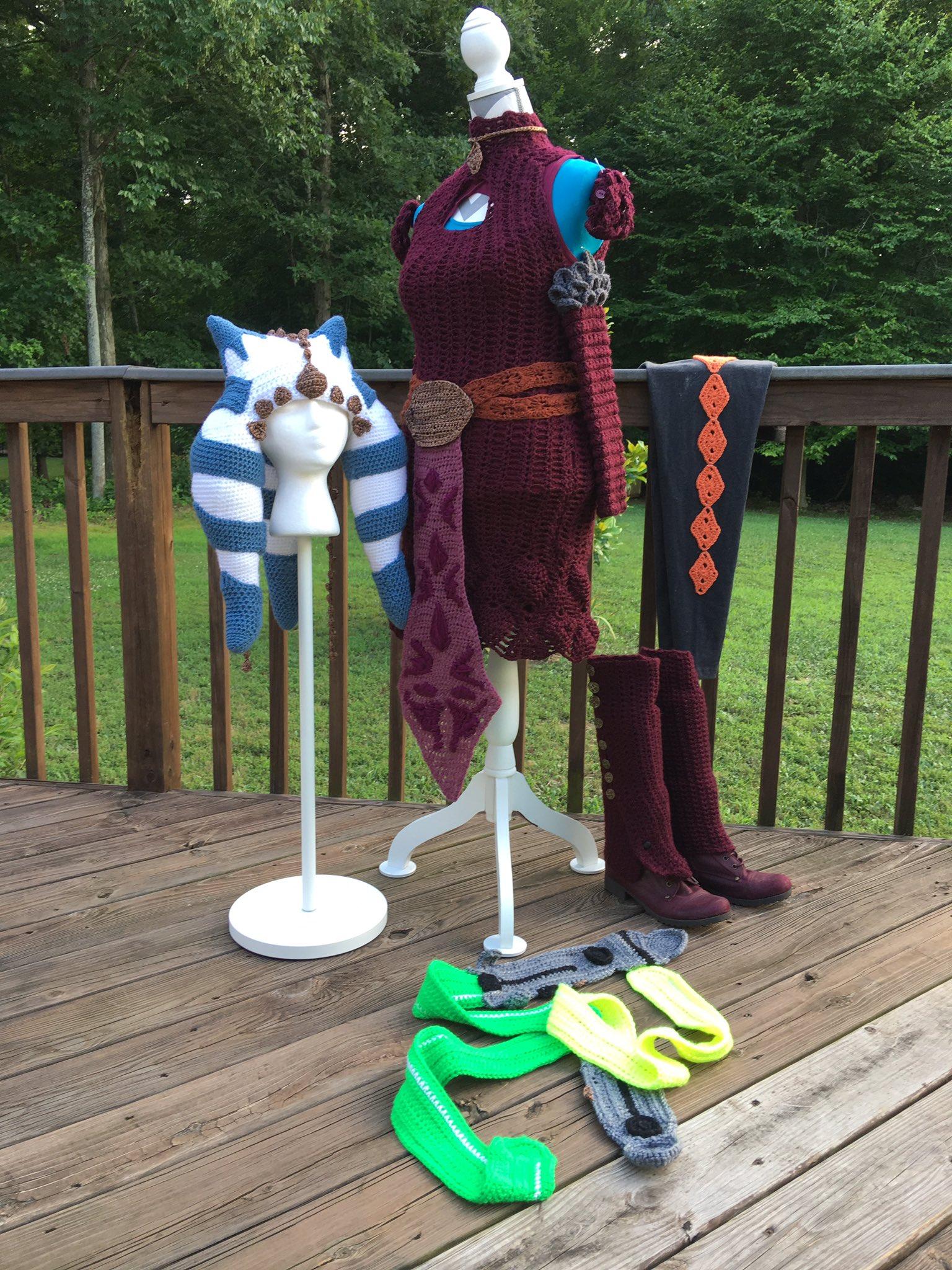 Yarn ahsoka cosplay 2