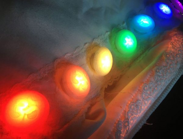 Illuminated Control Buttons