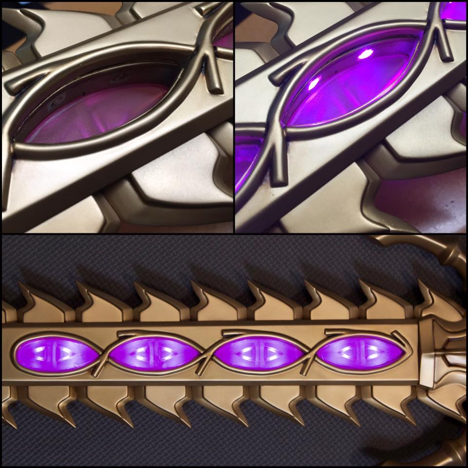 Gorgeous Fire Emblem Sword Build Adafruit Industries Makers