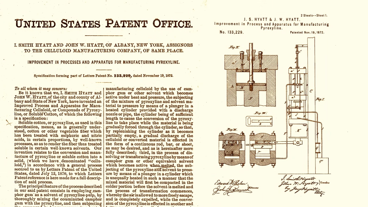 injection mold patent