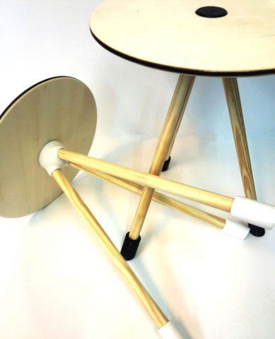 invader stool