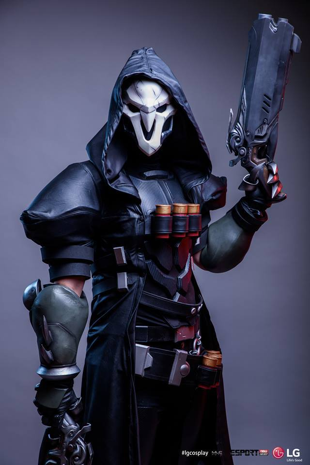 overwatch reaper cosplay 1