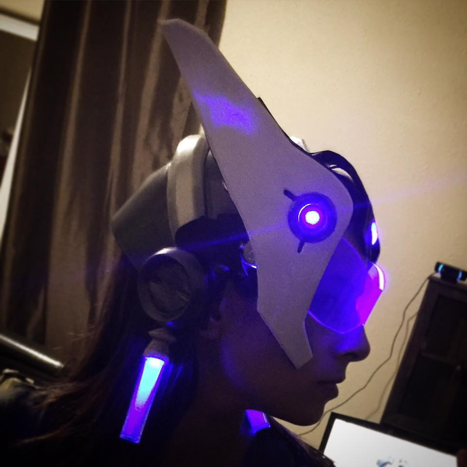 overwatch symmetra cosplay 2