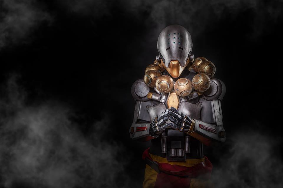 overwatch zenyatta cosplay 1