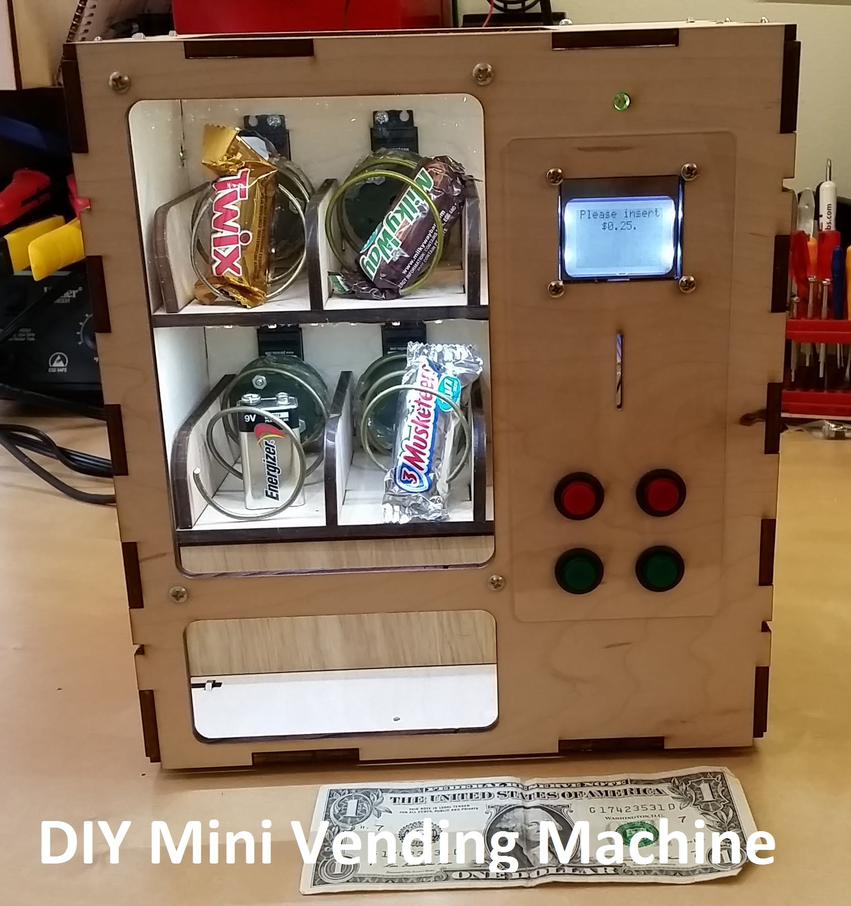 Venduino Diy Vending Machine Arduinomonday 171 Adafruit