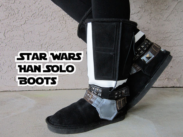 Han Solo boots 1