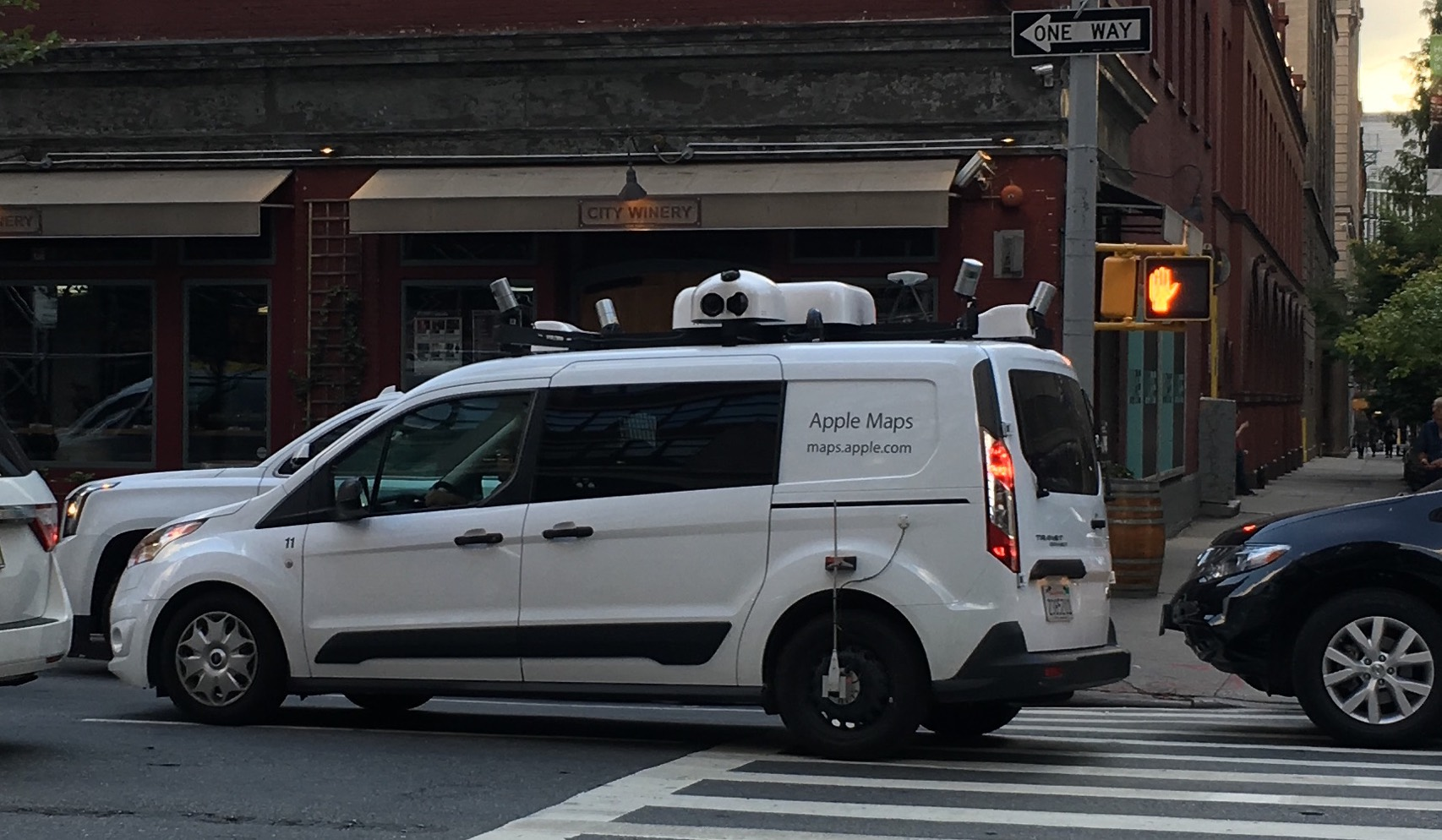 Apple Maps vehicles (spotted!) @tim_cook « Adafruit ...