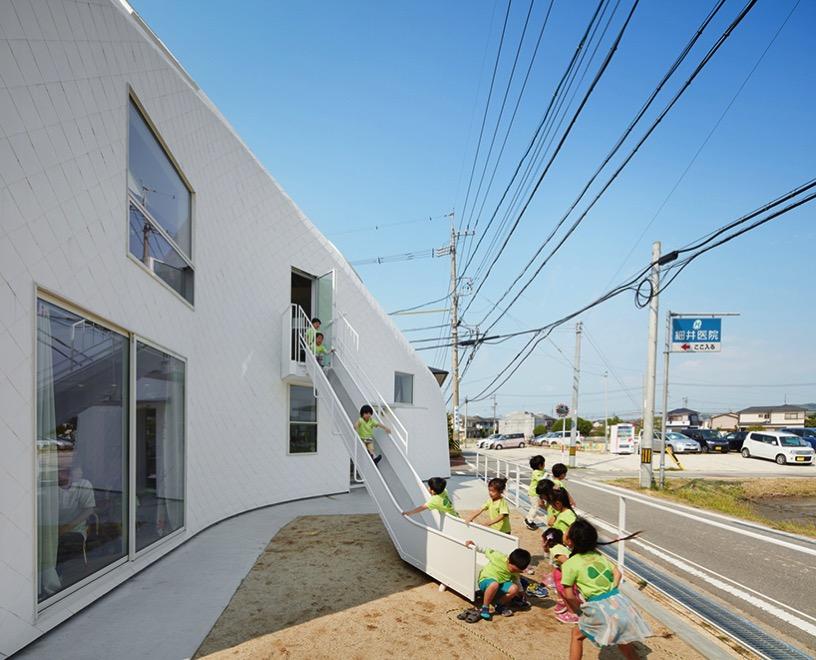 MAD architects clover house kindergarten house okazaki aichi japan designboom 03