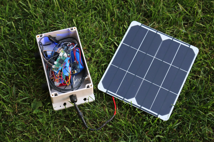 How To Make A Solar Powered Weather Station Piday