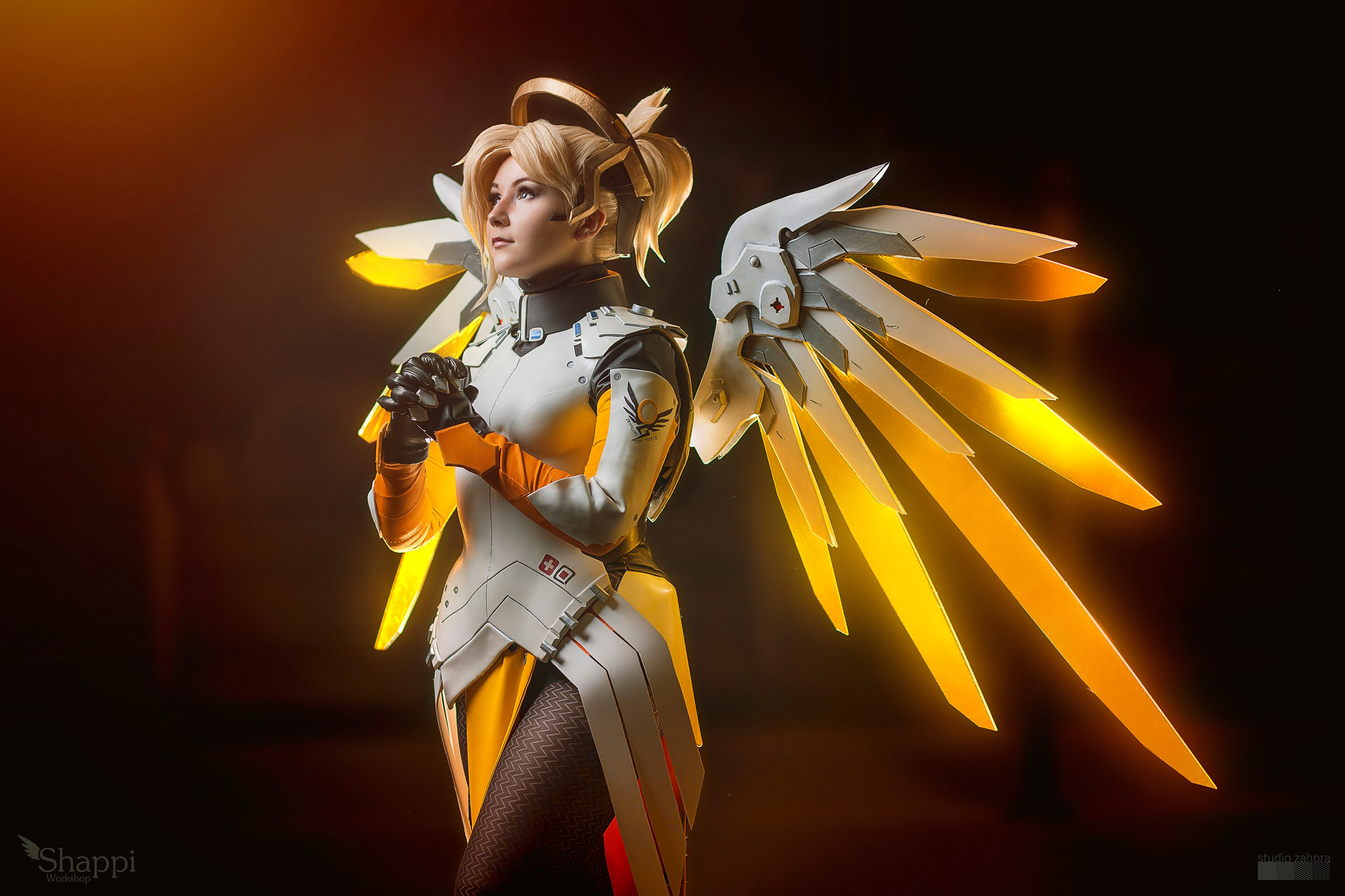 Aleksandra Overwatch overwatch mercy cosplay takes flight « adafruit industries