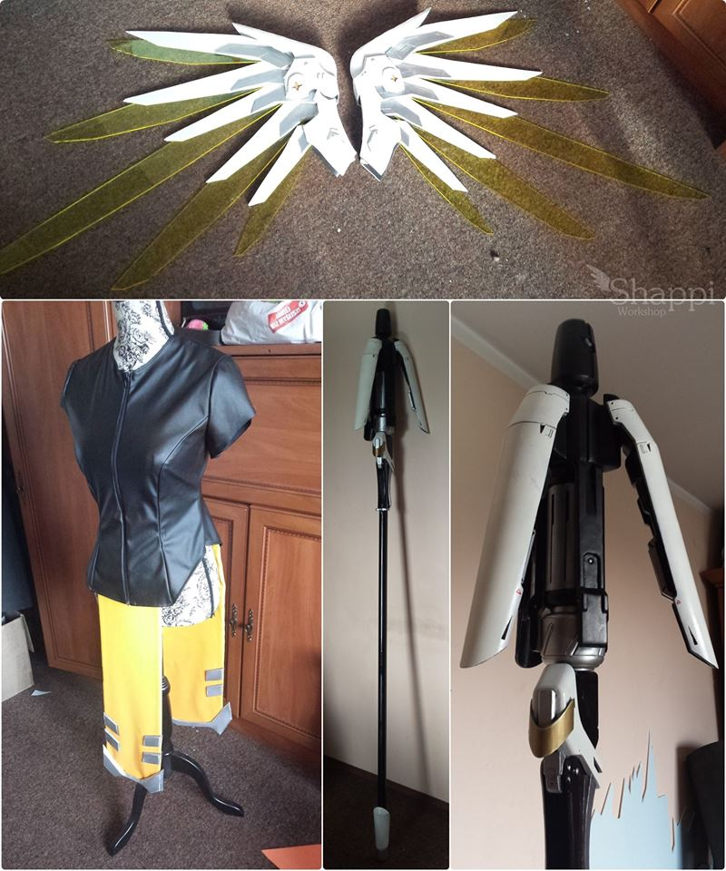 Overwatch Mercy Cosplay 2