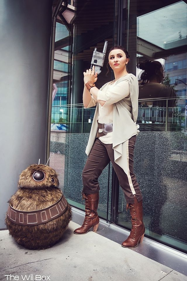 Rey and Wookiee BB-8 1