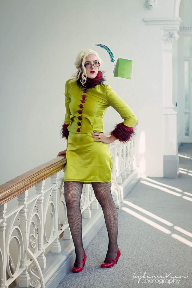 Rita Skeeter cosplay 2