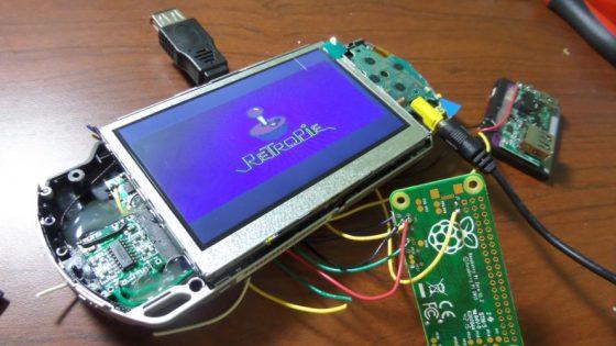 Excellent Psp Raspberry Pi Zero Build Piday Raspberrypi