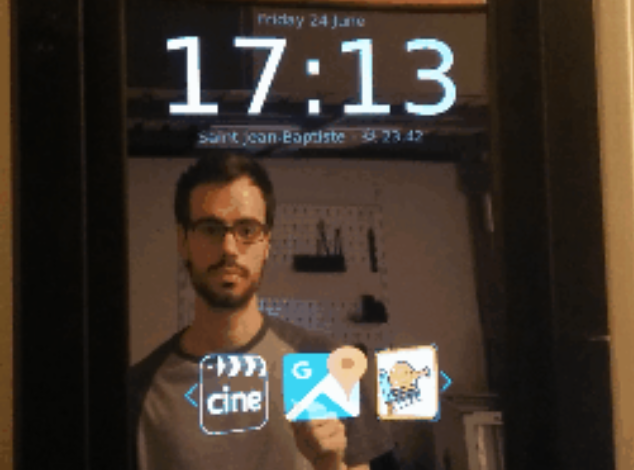Pi powered smart mirror project raspberry piday