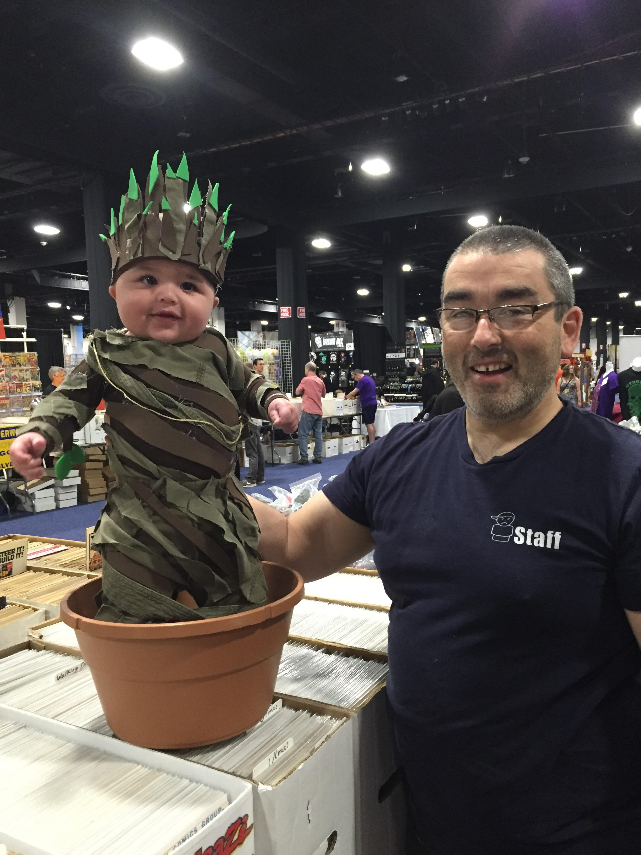 baby groot cosplay