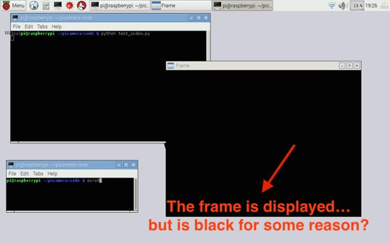 Common pi errors black frame 768x480