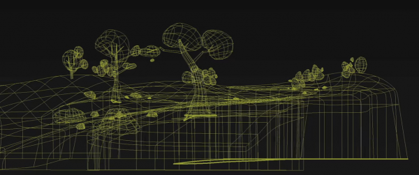 disney wireframe