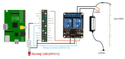 diy smart home device means no more fumbling in the dark #piday  #raspberrypi @raspberry_pi  electrical-wiring-diagram
