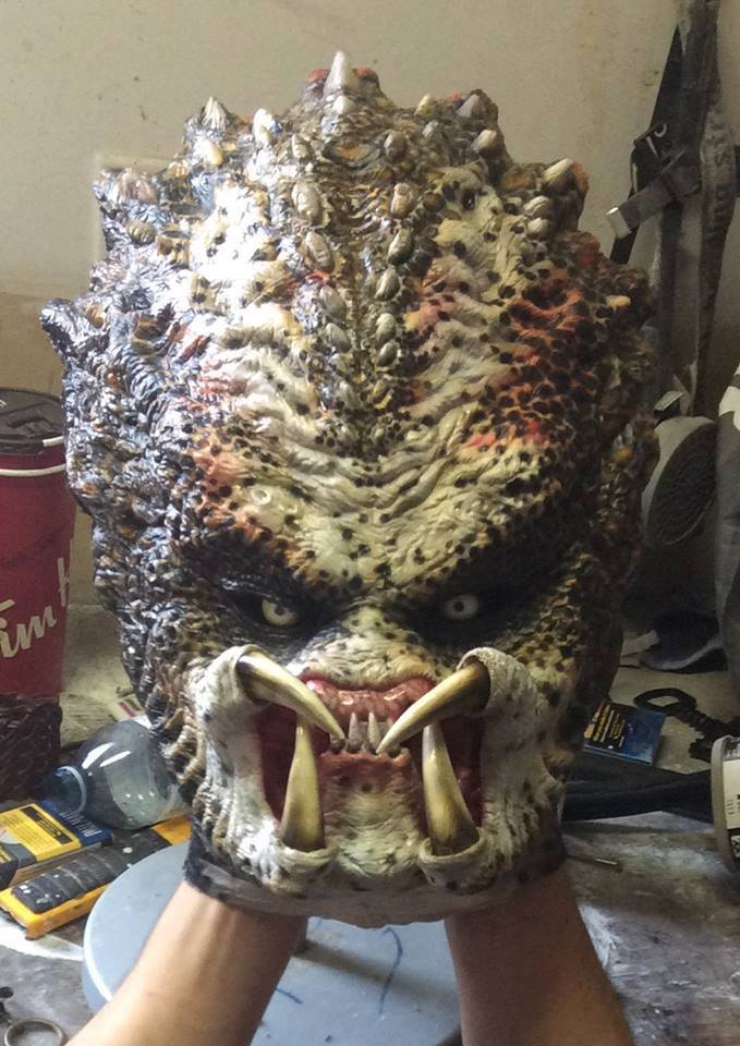 Frighteningly Detailed Female Predator Costume « Adafruit ...