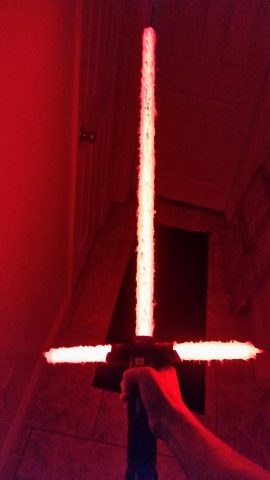 kylo ren lightsaber build