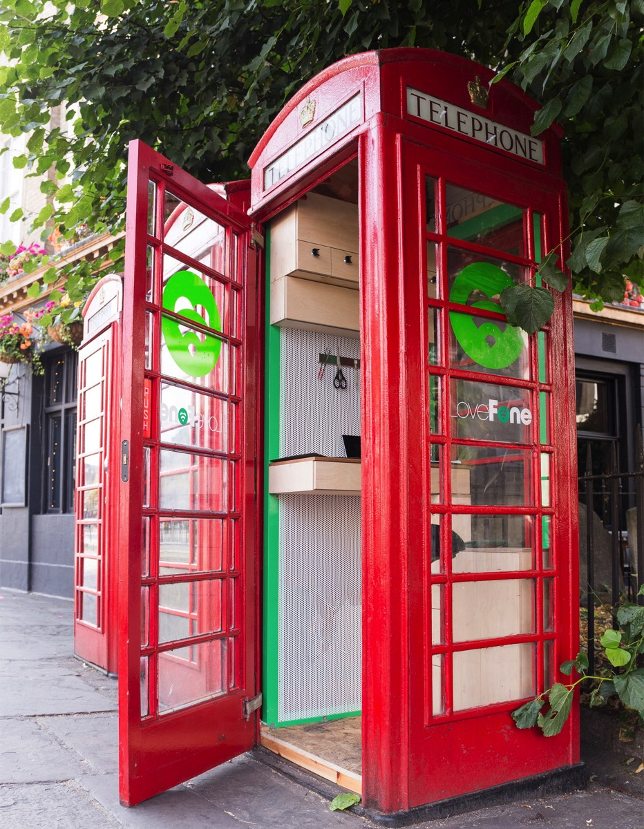 UK's Disused Telephone Booths Transformed into Tiny Repair ...