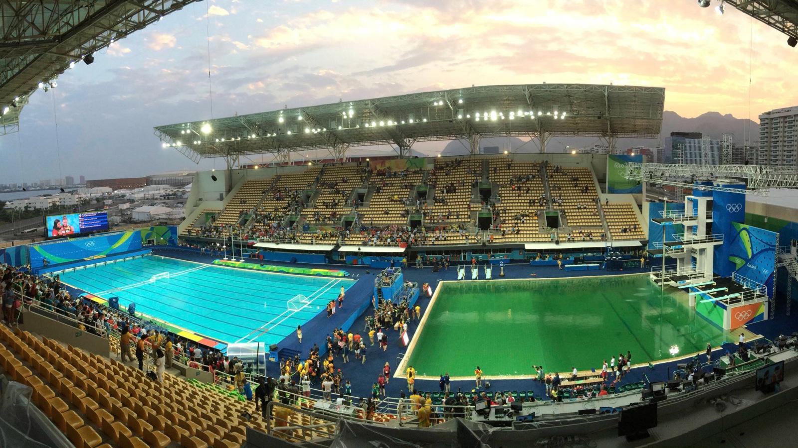 Olympicdivingpoolgreen