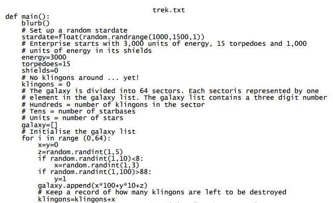trek-text