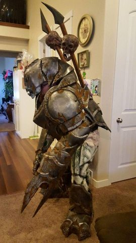 war troll costume 2