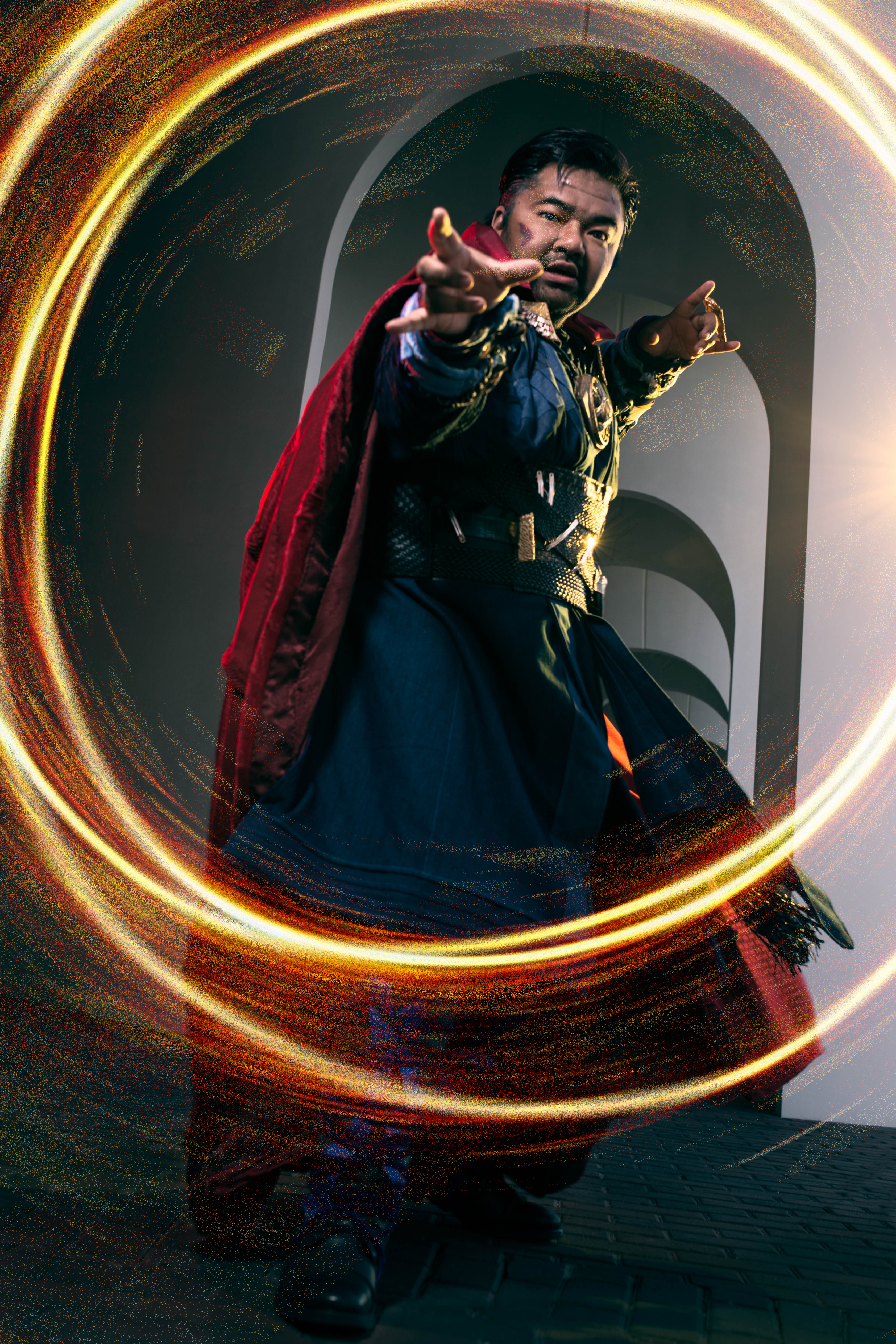 by the hoary hosts of hoggoth  it u2019s doctor strange cosplay