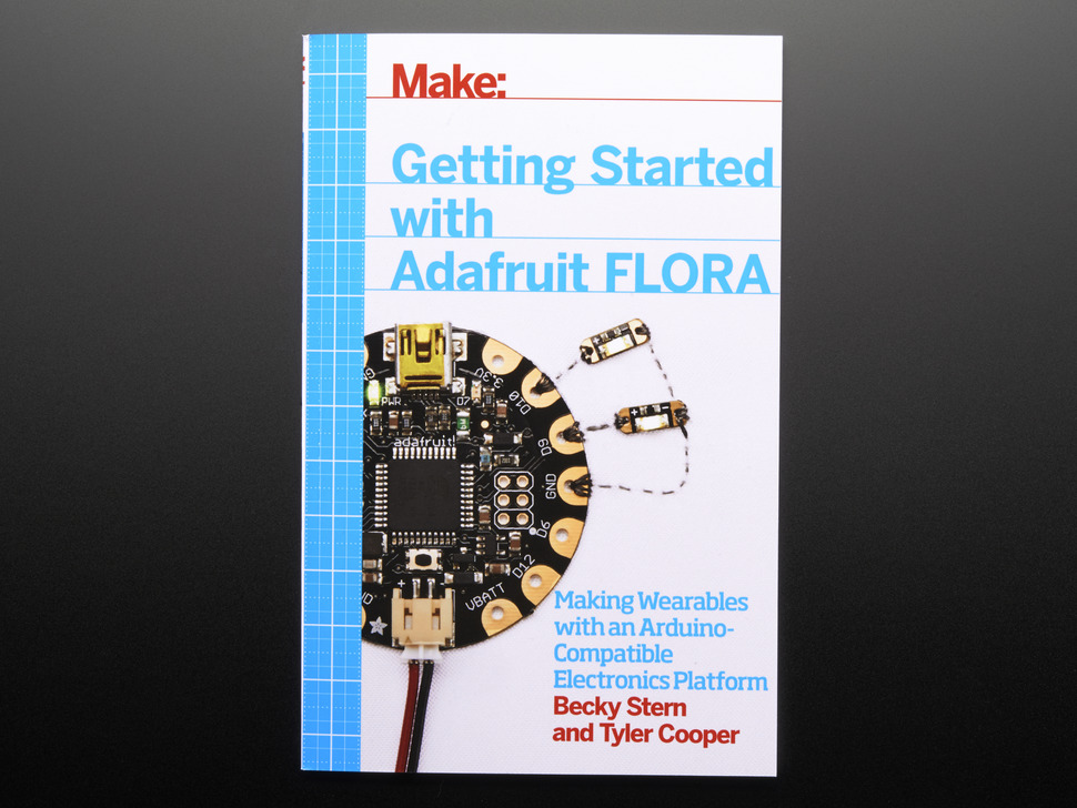 FLORA Microcontroller Wearable Tech Book
