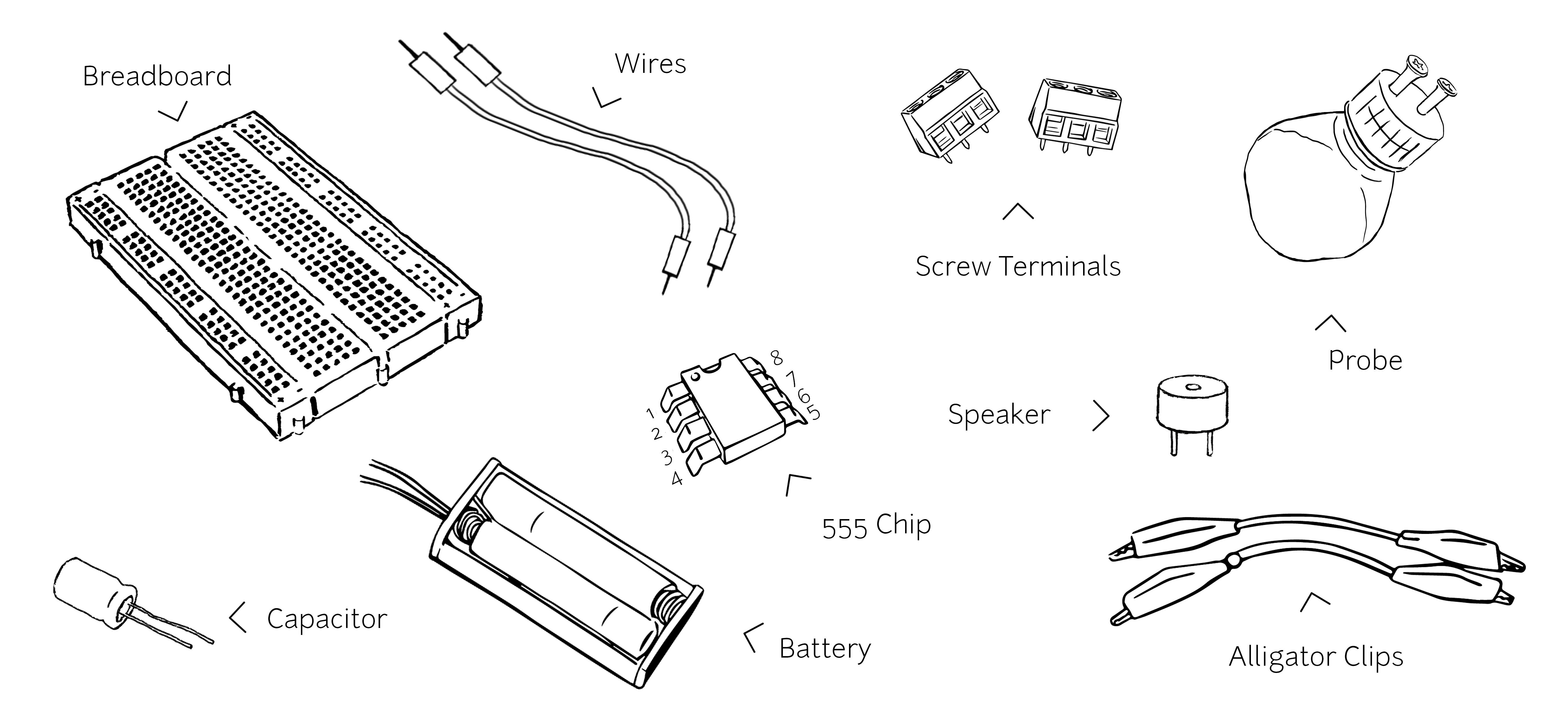 coqu u00ed by  publiclab is a simple sensor for detecting conductivity of water  u2013 it u2019s a 555  speaker