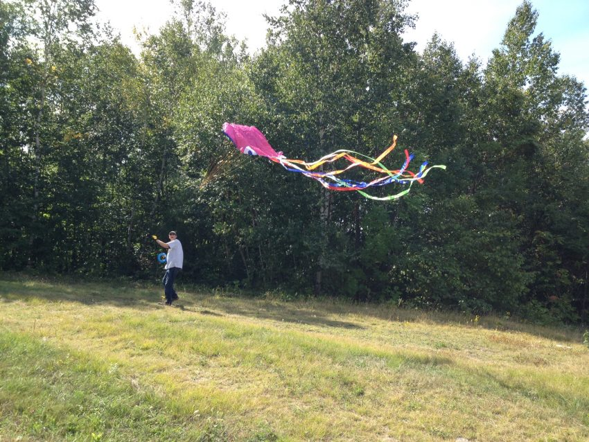 Public Lab Flies Kites