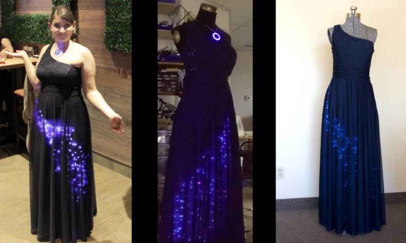 Wearable Tech Gown