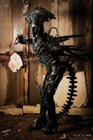 alien queen cosplay 1