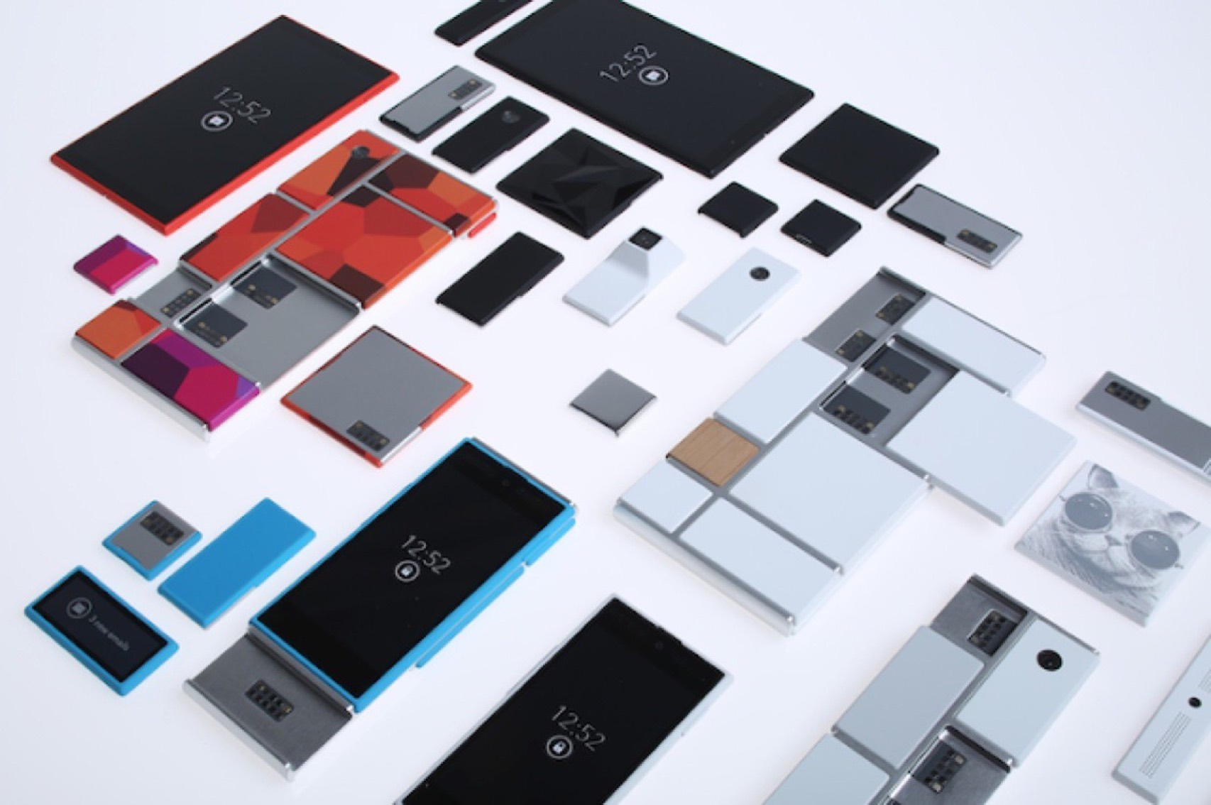 Google shelves plan for phone with interchangeable parts
